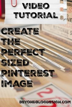 The Best Image Sizes for Social Media. Find the right size image for Facebook, Twitter, Pinterest, Instagram and more! Also a video tutorial on how to use PicMonkey to make social media images!  - Beyond Blog Design