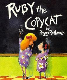 Teach with Picture Books: Ruby the Copycat - write a class poem about students' special talents.