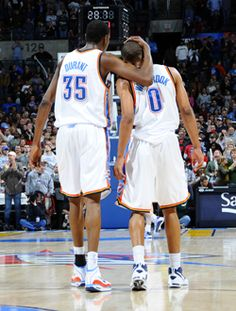 kevin durant russell westbrook okc thunder