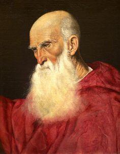 Attributed to Jacopo Bassano il Vecchio, Portrait of a Cardinal, c. 1545