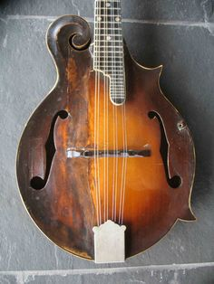The first Loar-signed mandolin gets a second life Banjo, Violin, Bill Monroe, Cigar Box Guitar, Second Life, Musical Instruments, Rock And Roll, Guitars, Sheet Music