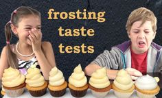 Frosting Recipes Taste and Heat tested HOW TO COOK THAT Ann Reardon Kids...