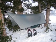 DIY Hammock camping.  Great guides for making your own gear.