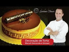 Técnica de Decoração de Tortas e Sobremesas: Biscuit Gioconda & Ginoasi por Chef Luciano Chaves - YouTube