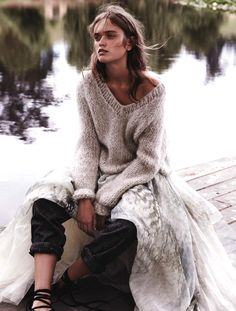 On The Libertine. 'Raw Beauty' . Jayne Baily By Nicole Bentley For Marie Claire Australia. May 2015
