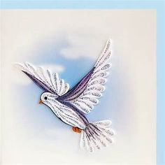 quilled bird | Quilling | Pinterest | Quilling, Peace and Bird cards