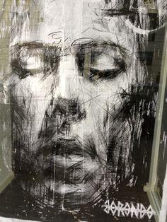 Borondo - Street Artist . #borondo http://www.widewalls.ch/artist/borondo/