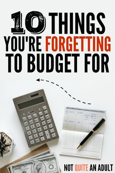 Learning how to make a budget and creating your first budget is actually just the first step, learning how to stick to a budget is the hard part. There are at least 10 Things You're Forgetting to Budget For that you should definitely take a look at to be Budget Binder, Monthly Budget, Budget Planner, Monthly Expenses, Making A Budget, Create A Budget, Making Ideas, Budget Help, Budgeting Finances