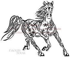 flower horse hmmm tattoos the concept is great - not a fan of the actual art Tattoo Apprenticeship, Eye Expressions, Grand Art, Cool Tats, Henna Art, Horse Art, Skin Art, Coloring Pages, Colouring