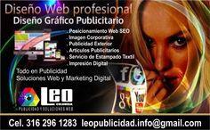 LEO PUBLICIDAD EN MANIZALES Marketing Digital, Leo, Future Gadgets, New Trends, Textile Prints, Digital Prints, Lion