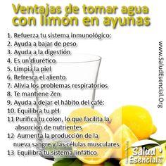 Limón y agua tibia en ayunas para adelgazar