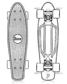 Watershed - Penny Skateboards - Custom Penny Skateboard Design Your Own