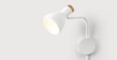 Cohen Wall Lamp, White