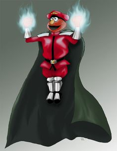 Sesame Street Fighter Elmo