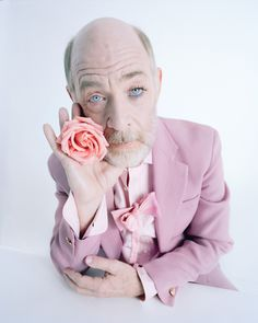 Best Performances 2015 - J.K. Simmons, by Tim Walker in W Magazine's Movie Issue