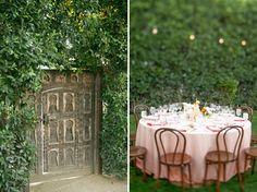 Pink Ombre Wedding   Romantic wedding decor. French inspired wedding