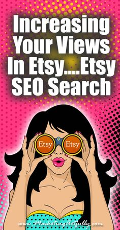 Increasing Your Views In Etsy....Etsy SEO Search | Today we are going to talk about things that are hard. If you want to grow your Etsy shop, there is only one thing that you need to focus on, getting your view up. That's it.