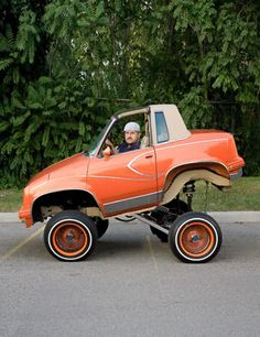 happened to the rest of the car? Smart Car Body Kits, Donk Cars, Weird Cars, Crazy Cars, Pedal Cars, Vw Cars, Cute Cars, Funny Cars, Car Mods