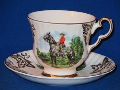 Royal Windsor Royal Canadian Mounted Police Souvenir by HazelMaes