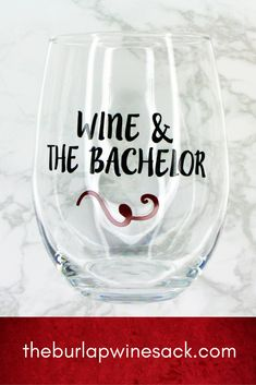 Wine and #TheBachelor! Shop it now! #Wine #Gifts