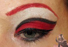 Inglot AMC 50 on pinksith.com red eyeshadow