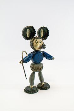 """DDR Museum - Museum: Objektdatenbank - """"Maus aus Kronkorken"""" Copyright: DDR Museum, Berlin. Eine kommerzielle Nutzung des Bildes ist nicht erlaubt, but feel free to repin it!"""