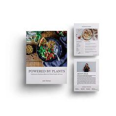 Recipe eBook Template Templates, Design, Stencils, Design Comics, Western Food