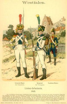 Knötel-Tafel 09/5, Westphalia Line Infantry
