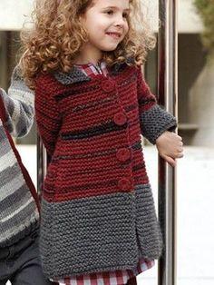 Knitting For Kids Knitting Patterns Free, Knit Patterns, Free Knitting, Baby Knitting, Free Pattern, Knitting For Kids, Crochet For Kids, Crochet Baby, Knit Crochet