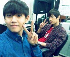 Predebut: BTS' V and KNK's Seungjun