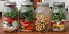 17 Great Mason Jar Salad Ideas