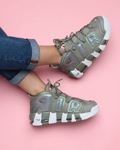 """2,184 Likes, 16 Comments - Supplying Girls With Sneakers (@nakedcph) on Instagram: """"GIMME MORE UPTEMPO  A mid-90s icon gets a comeback in the style game. The Nike Air More Uptempo '96…"""""""