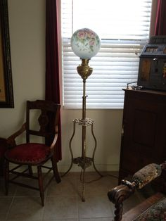 VICTORIAN Piano Lamp - Central Coast Pickers