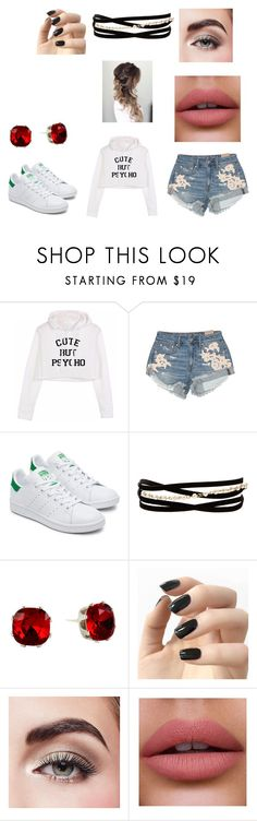 """School day 3"" by tacobean07 on Polyvore featuring American Eagle Outfitters, Kenneth Jay Lane, Incoco and Avon"