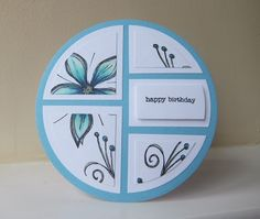 In an attempt to get it back I played with my patchwork die. Patchwork Cards, Craft Projects, Projects To Try, Birthday Cards, Happy Birthday, Shaped Cards, Die Cut Cards, Marianne Design, Creative Cards