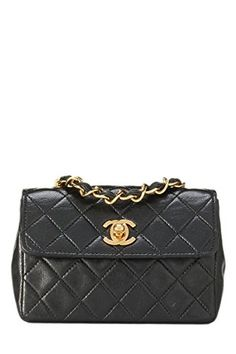 0dcf89017cb5 $3300 - CHANEL Black Quilted Lambskin Half Flap Mini (Pre-Owned) #gift_ideas