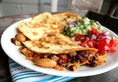 Veganmisjonen: Quesadilla med fabelaktig bønnechili