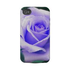 Pale Lavender Rose iPhone 4 case  Also Available in peach, pale blue and pink roses.