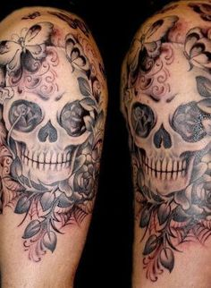 Half Sleeve Tattoo / Half Sleeve Tattoo Ideas / Arm Tattoos