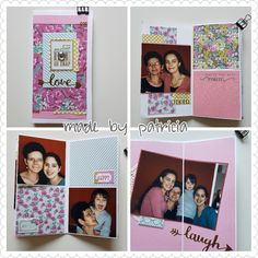 Mini album. Made by patricia