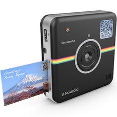 Polaroid Socialmatic Wi-Fi Digital Instant Print & Share Camera – Share on Socialmatic… Technology Gadgets, Tech Gadgets, Cool Gadgets, Vintage Polaroid Camera, Vintage Cameras, Poloroid Camera, Zink Printer, Instant Digital Camera, Netflix