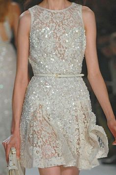 """I'M OBSESSED with Elie Saab.Exquisitely elegant and delightfully chic Elie Saab's """"Ode to Delicateness"""" makes my fashion heart melt.His whimsical designs sculpt the female form in the most ethereal way. From show stopping gowns to beautiful 50s inspired dresses Elie Saab has femininity down to an art form."""