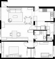 YN Apartment by A:M Studio de Arquitetura