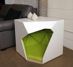 Geodog Dog House by Laser Lab Studio - Dog Milk
