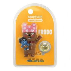 Kakao Talk Friends Ver.2 Cute Characters Car Vent Clip Air Freshener Frodo…