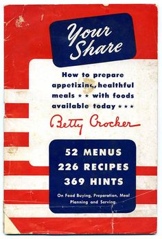 Your Share: How to Put Cereal in Everything, for the War Effort