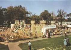 Peter Pan's Playground worthing 1958 Bognor Regis, Worthing, Childhood Days, I Remember When, Local History, Old Photos, Brighton, Playground, Dolores Park