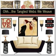 """""""Oh, the Tangled Webs We Weave"""" by stephlo-1 on Polyvore"""