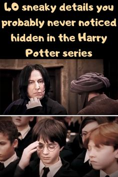 """J.K. Rowling's Harry Potter series has created a legion of Potter obsessed fans that span generations. These """"Potterheads"""" are so in love with the films that they know just about everything there is to know about the series. Thanks to Rowling's Pottermore website, Potterheads know even more about the series than is revealed in the books and movies."""