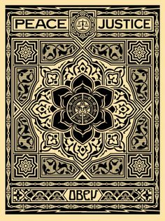 ☯☮ॐ American Hippie Psychedelic Art ~ Red Peace Justice - OBEY Shepard Fairey street artist . revolution OBEY style, street graffiti, illustration and design posters. Photographie Street Art, Omg Posters, Giant Posters, Shepard Fairey Obey, Obey Art, Illustration Photo, Graphic Art, Graphic Design, Art Anime